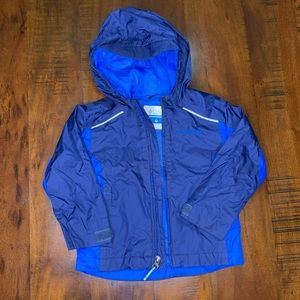 Boy's Columbia Rain Jacket - Size 3T